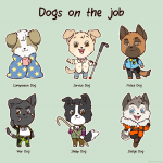 Dogs on the job