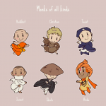 Monks of all kinds