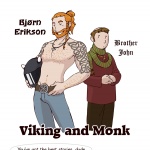 Viking and Monk