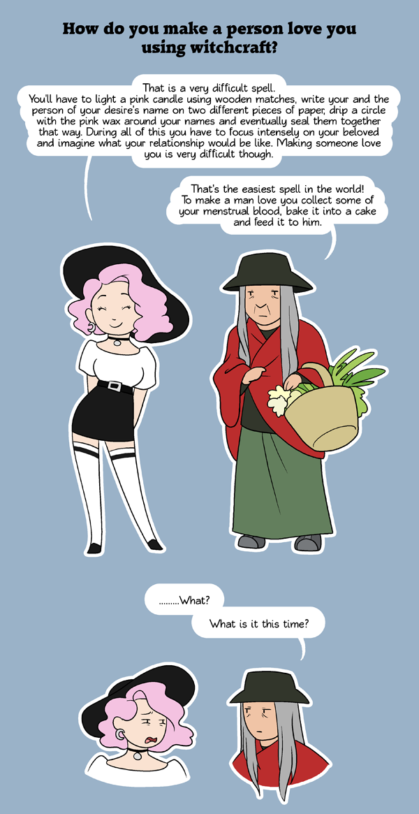 Ask a Witch HumonComics.com