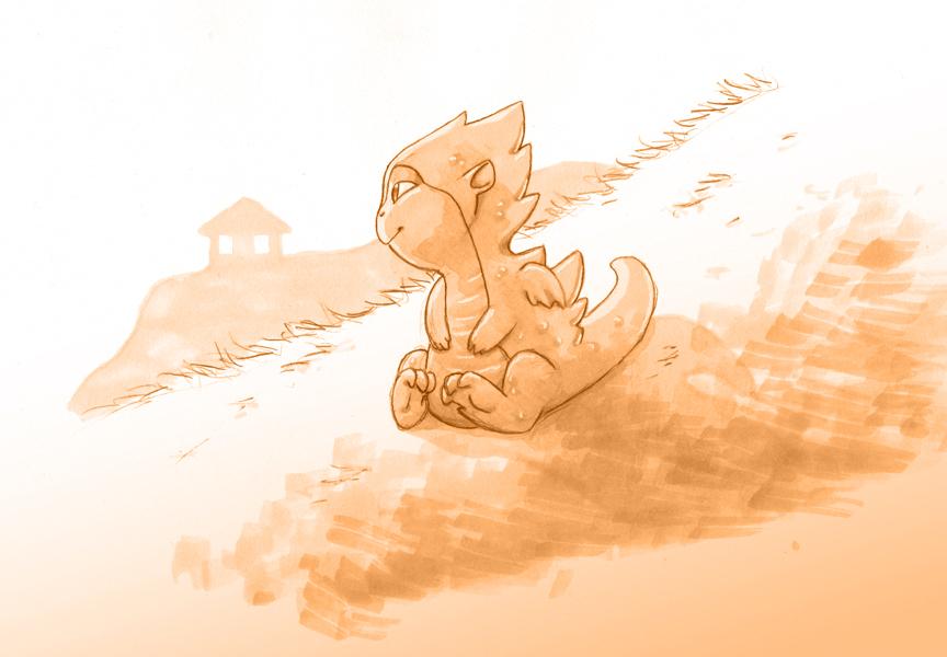Baby Dragon HumonComics.com
