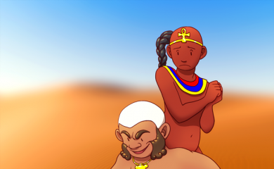 thumbnail of Bes and Horus