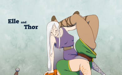 thumbnail of Elle and Thor