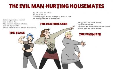 thumbnail of Evil Housemates