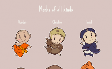 thumbnail of Monks of all kinds