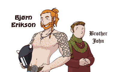 thumbnail of Viking and Monk