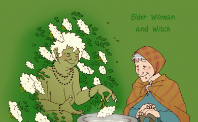 thumbnail of Woman of the Elder Tree