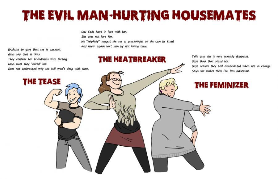 Evil Housemates HumonComics.com