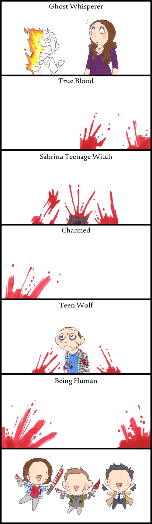 Damn Winchesters HumonComics.com