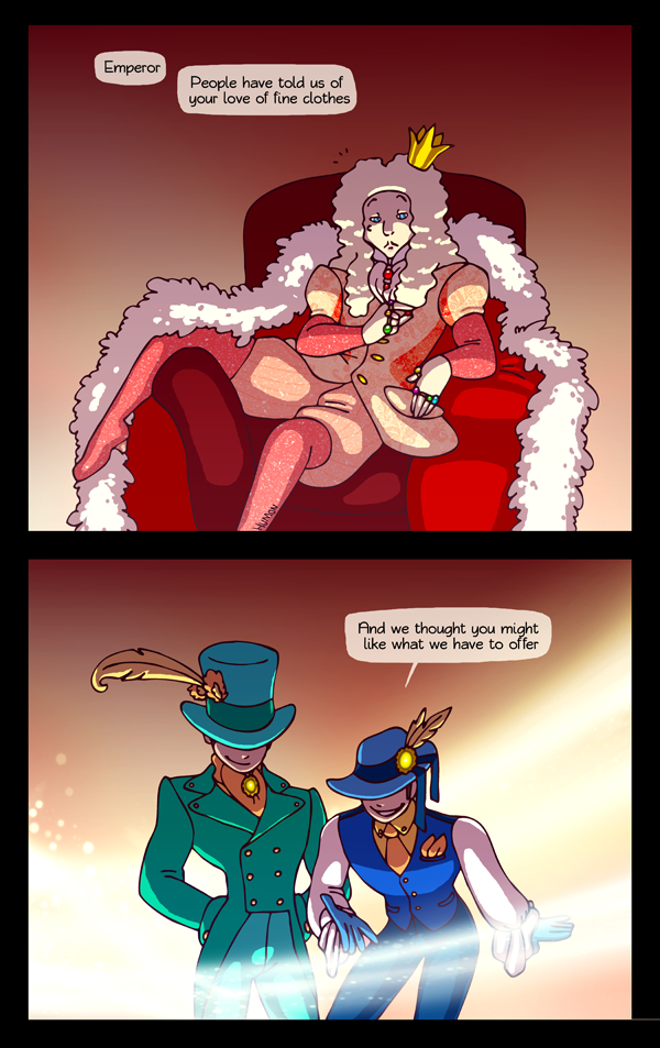 Emperor's New Clothes HumonComics.com