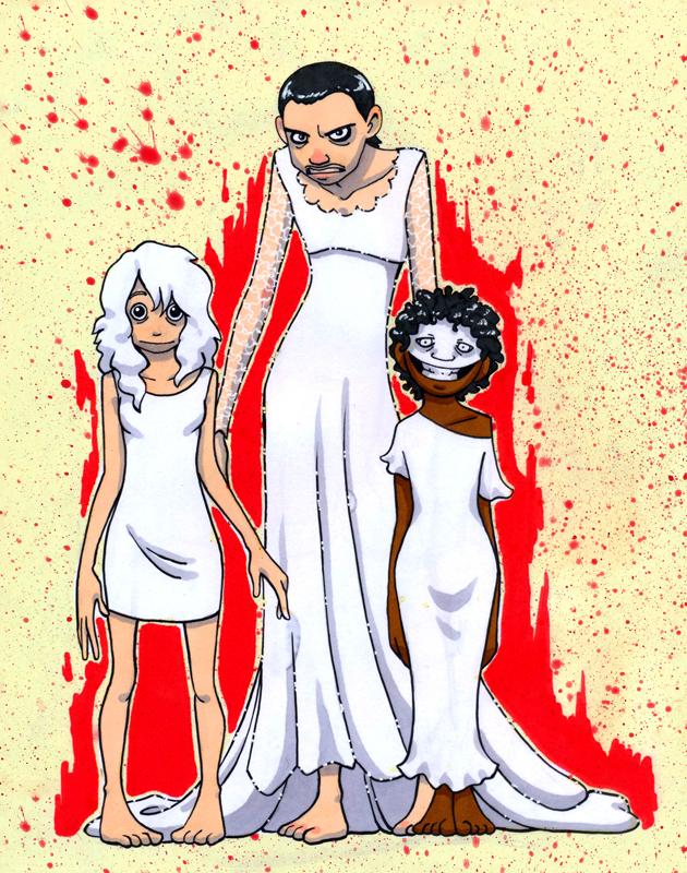 Fear the White Dress HumonComics.com