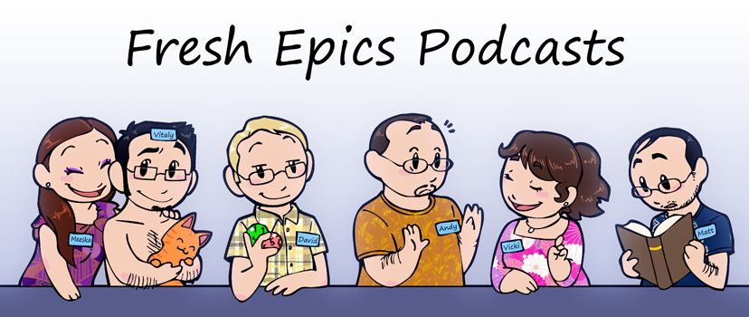 Fresh Epics Podcasts HumonComics.com