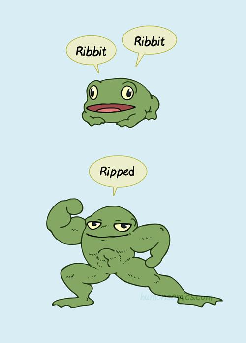 Frog HumonComics.com