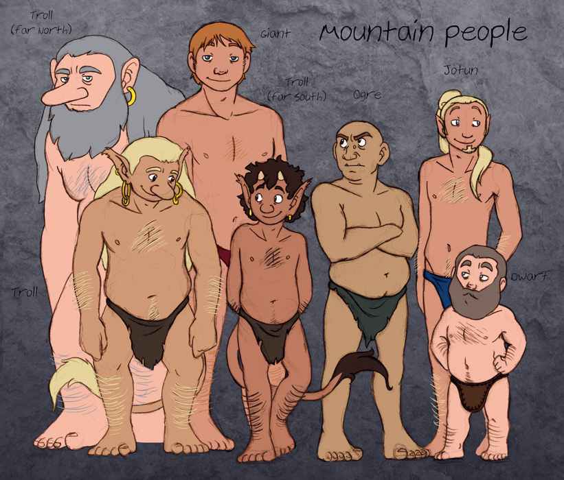 Mountain People HumonComics.com