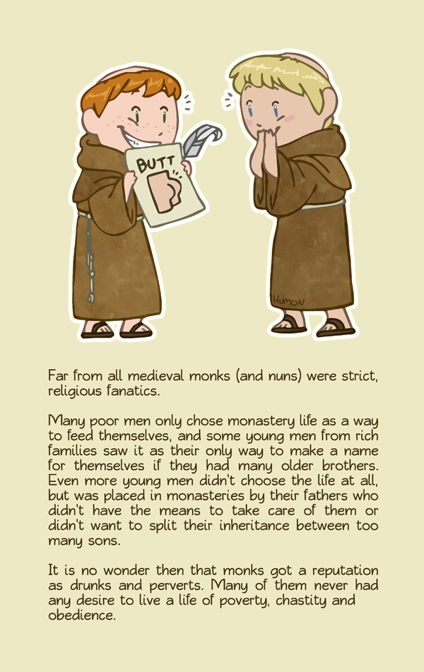Naughty Monks HumonComics.com