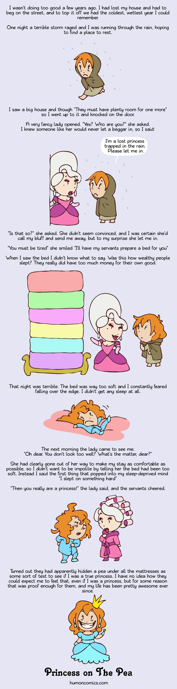 Princess on The Pea HumonComics.com