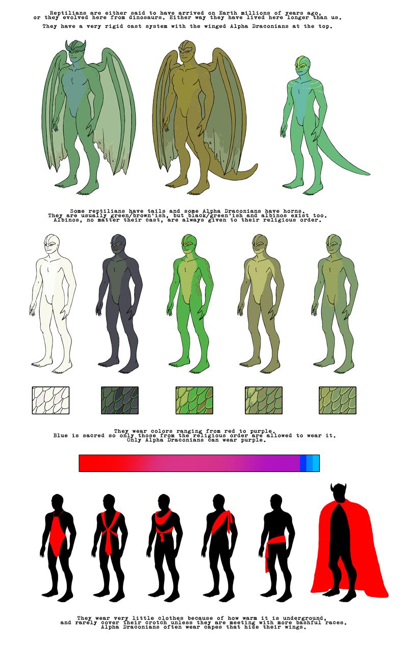 Reptilians HumonComics.com