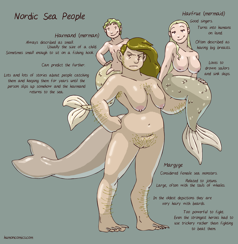 Sea People HumonComics.com