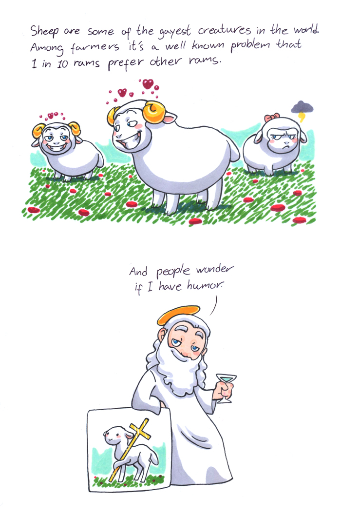 Sheep HumonComics.com