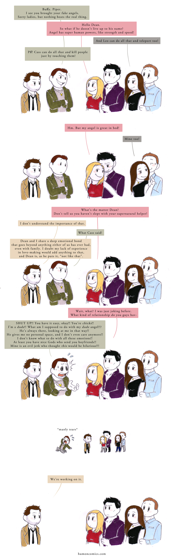 Supernatural Charmed Vampire Slayers HumonComics.com